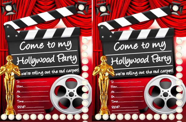 Hollywood Invitation Template Free Best Of Free Printable Children S Birthday Party Invitations