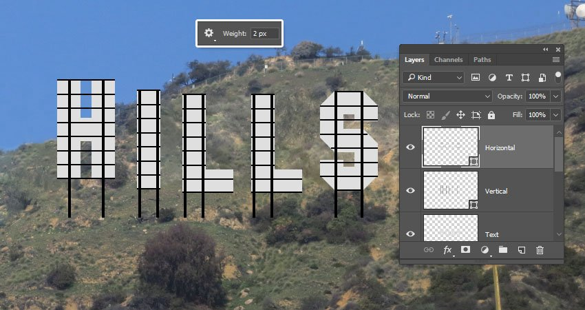 Hollywood Sign Photoshop Template Awesome How to Create A Hollywood Sign Text Effect In Adobe