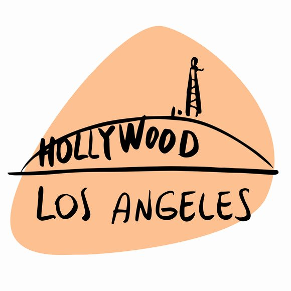Hollywood Sign Photoshop Template Fresh Hollywood Sign Template Designtube Creative Design Content