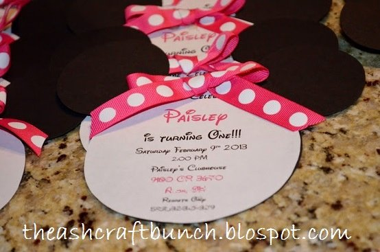 Homemade Minnie Mouse Invitations Best Of Diy Minnie Birthday Invitations