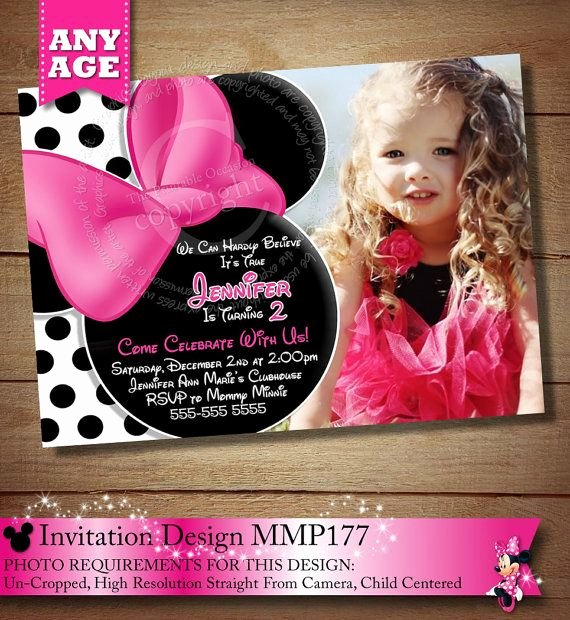 Homemade Minnie Mouse Invitations Elegant 1000 Images About White & Black Polka Dot Minnie Mouse