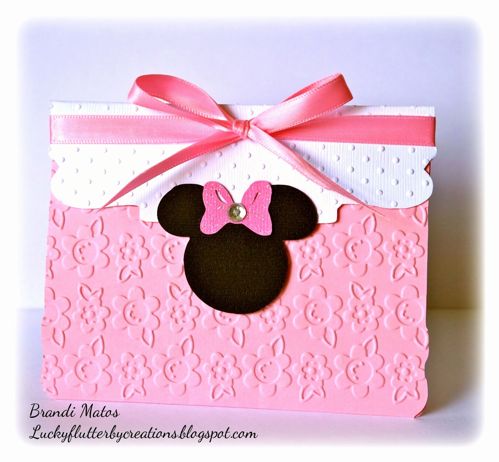 Homemade Minnie Mouse Invitations Luxury Lucky Flutterby Creations Handmade Minnie Mouse Invitations