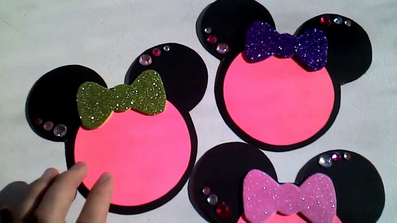 Homemade Minnie Mouse Invitations Unique Minnie Mouse Invitations for Bridal Shower