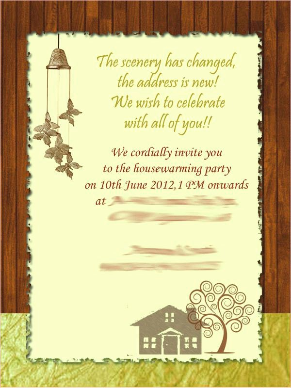 House Warming Ceremony Invitation Best Of Housewarming Invitation Cards India