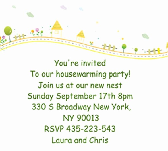 House Warming Ceremony Invitation Elegant Housewarming Invitation Cards Free Download