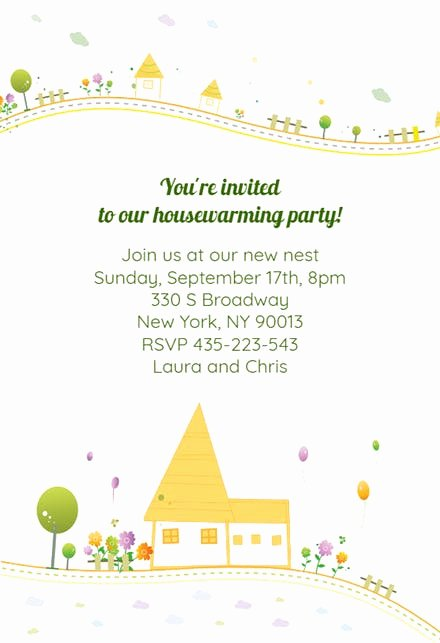 House Warming Ceremony Invitation Inspirational Housewarming Invitation Templates Free
