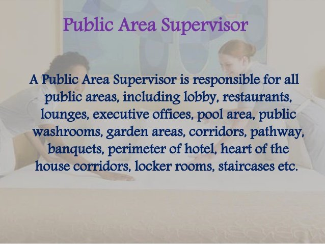 Housekeeping Supervisors Duties and Responsibilities Beautiful Job Description