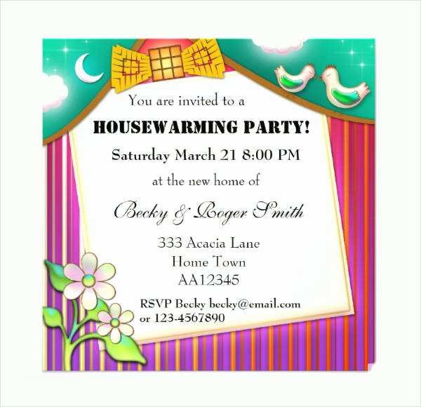 Housewarming Images for Invitation Best Of 36 Unique Housewarming Invitation Designs Psd Vector