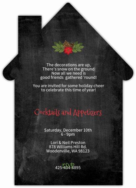 Housewarming Images for Invitation Elegant Holiday Housewarming Party Invitation Card