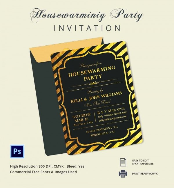 Housewarming Images for Invitation Fresh Housewarming Invitation Template 30 Free Psd Vector