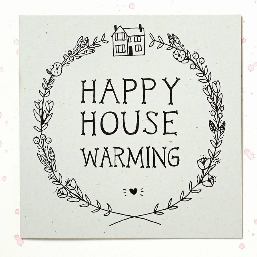 Housewarming Images for Invitation Luxury Happy House Warming Card by Wolf Whistle
