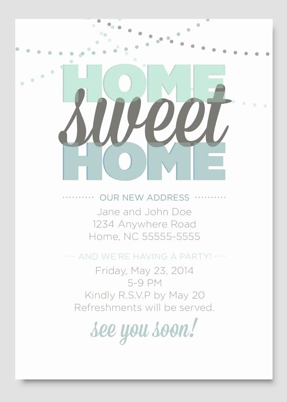 Housewarming Invitation Wording Funny Luxury Housewarming Party Invitation by Papercloudstudios On Etsy