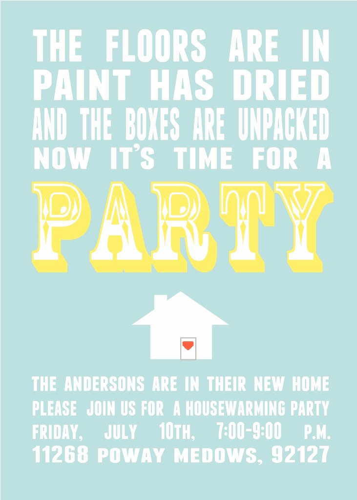 Housewarming Invitation Wording Funny Luxury Parks and Pepper Housewarming Invitations