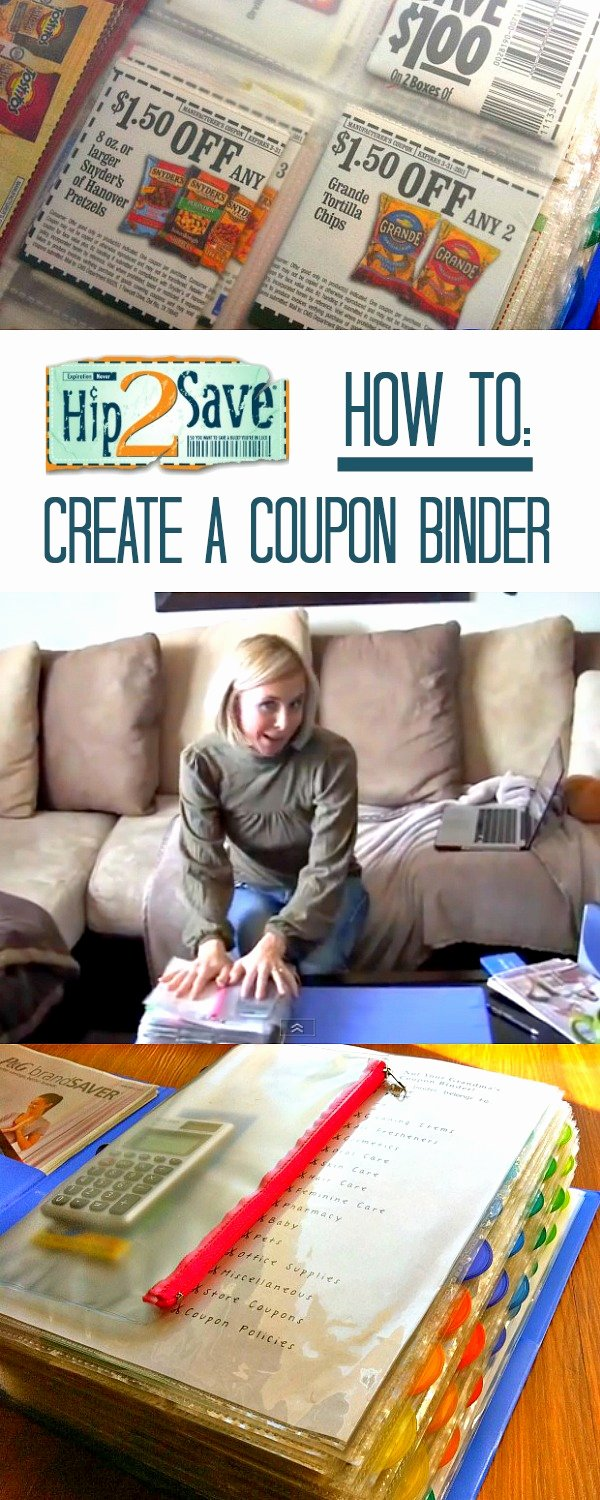 How to Design A Coupon Best Of How to Create A Coupon Binder Keep Those Coupons