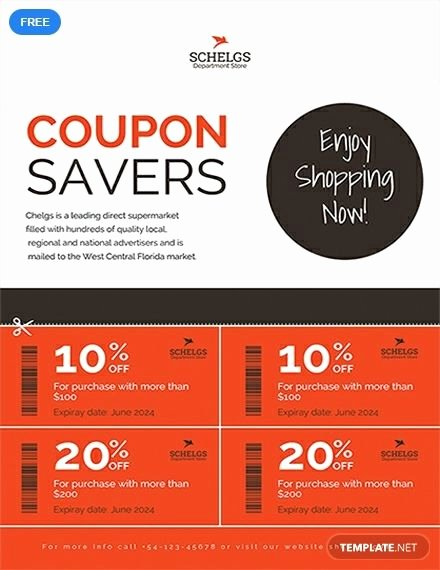 How to Design A Coupon Inspirational Free Sample Coupon Flyer