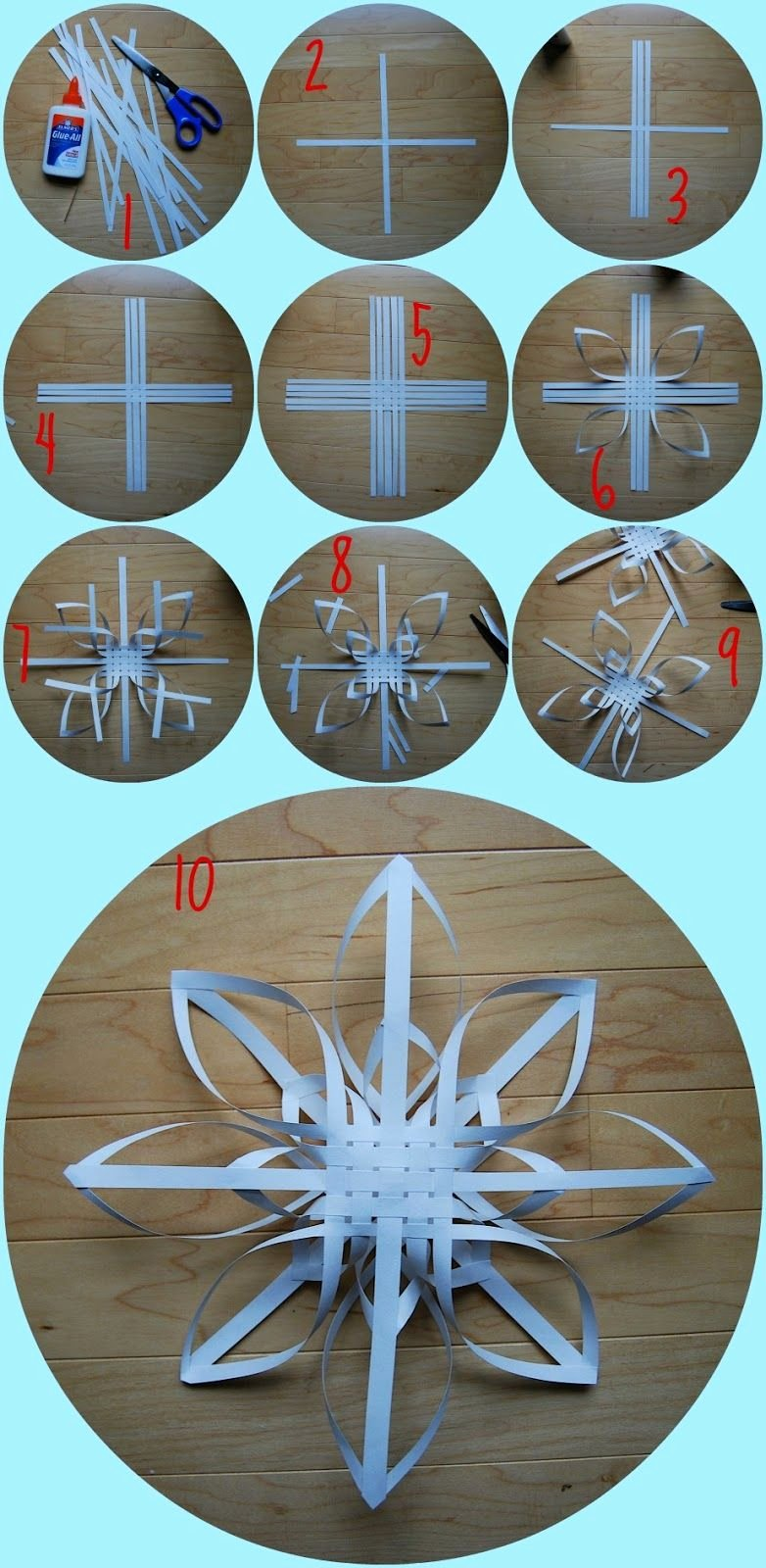 How to Make 3d Snowflakes Beautiful 3d Snowflake Tutorial פהחכ