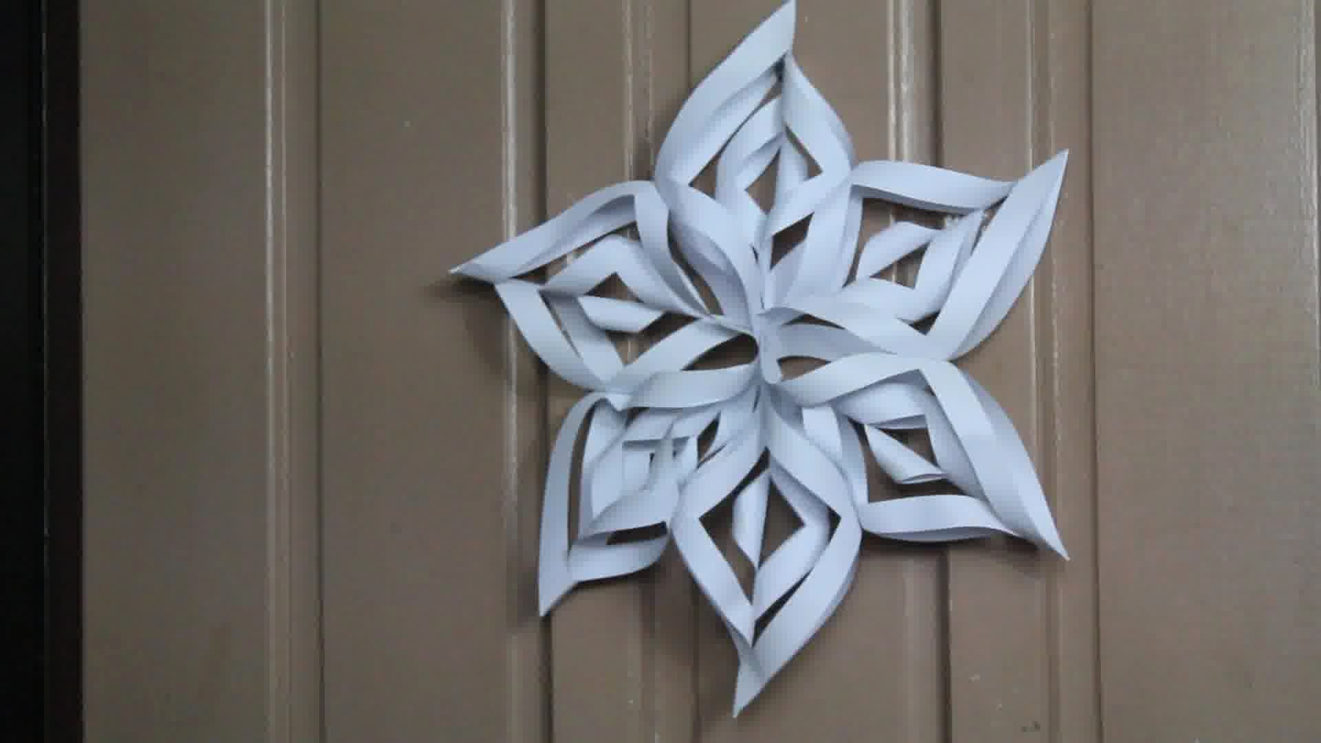 How to Make 3d Snowflakes Inspirational How to Make A 3d Paper Snowflake 13 Steps with