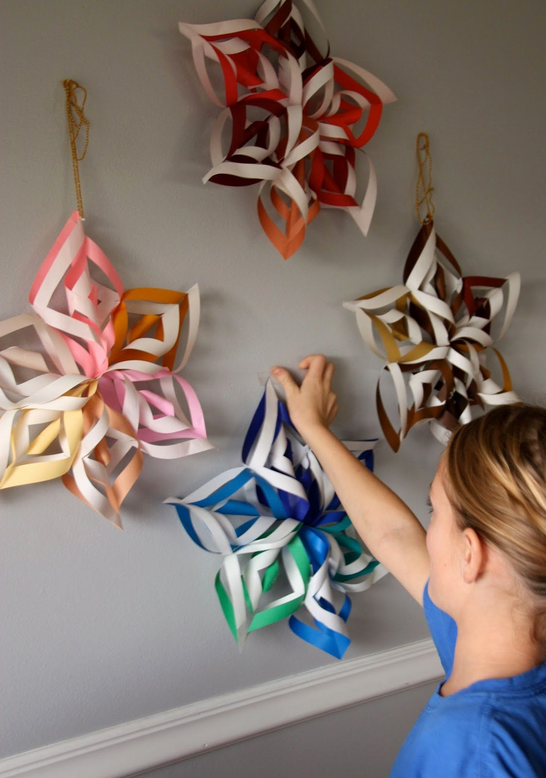 How to Make 3d Snowflakes Luxury Craft for Fun How to Make A 3d Paper Snowflake