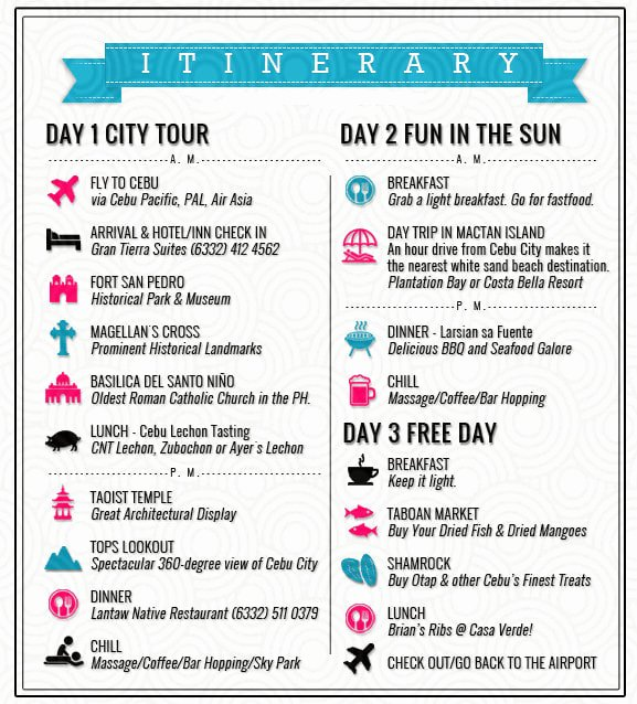How to Make An Itenary Lovely Make An Itinerary for Your Visit In the Philippines by Mgreys