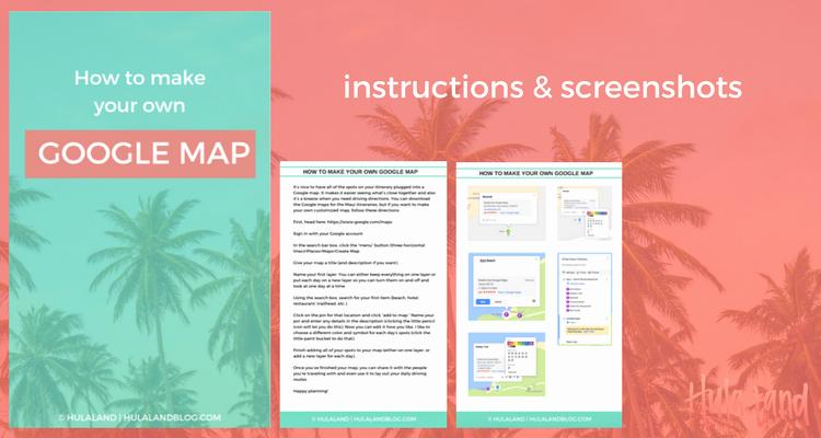 How to Make An Itenary New Kauai Vacation Itinerary