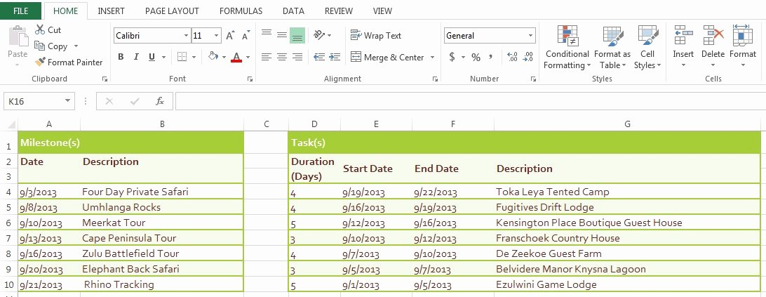 How to Make An Itenary New Make Dateless Timelines In Powerpoint