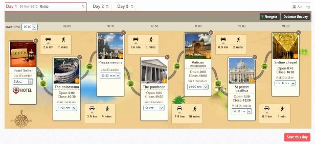 How to Make An Itenary Unique Travel Portal Joguru Launches Itinerary Planner to Make