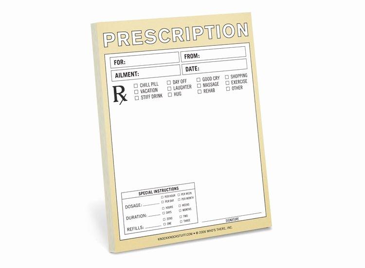 How to Make Fake Prescription Awesome Fake Doctors Prescription Pad