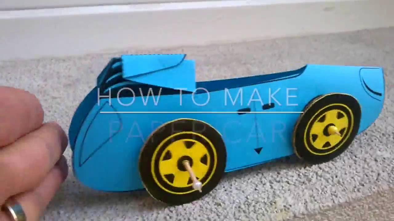 How to Make Paper Car Best Of How to Make Paper Car