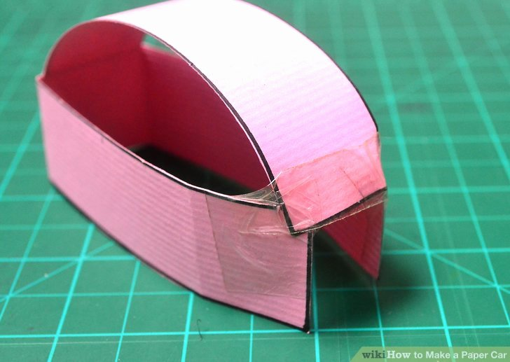 How to Make Paper Car Elegant How to Make A Paper Car with Wikihow