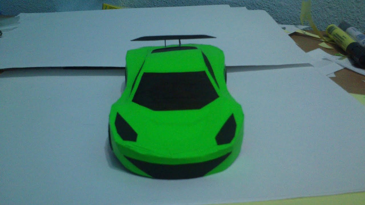 How to Make Paper Car Fresh How to Make Simple Paper Car