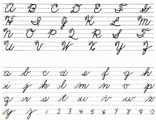 How to Write Cursive Words Awesome Students Would Do Well to Learn Cursive Advocate Says