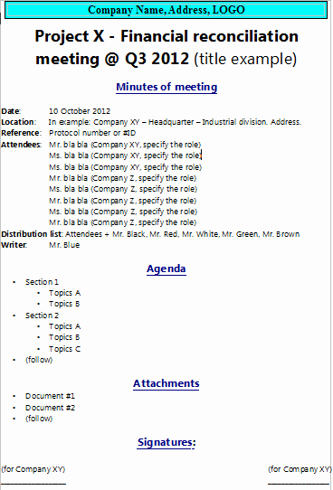 How to Write Minutes Beautiful How to Write Minutes Of Meeting the Project Manager Pad