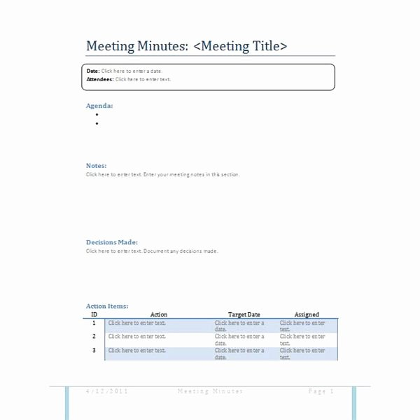How to Write Minutes Lovely Meeting Minutes Sample How to Write Useful Meeting Minutes