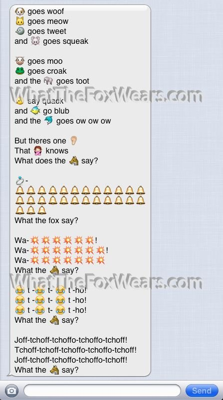 I Love You Emoji Text Elegant What Does the Fox Say Text Message Sms Emoji Emoticon