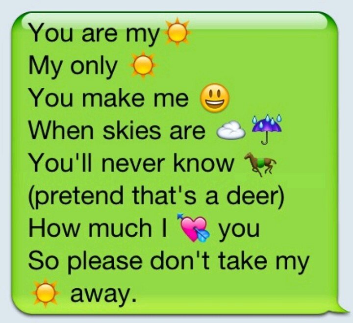 I Love You Emoji Text Fresh Love song Lyrics In Emoji Texts Samantha This Home Sweet