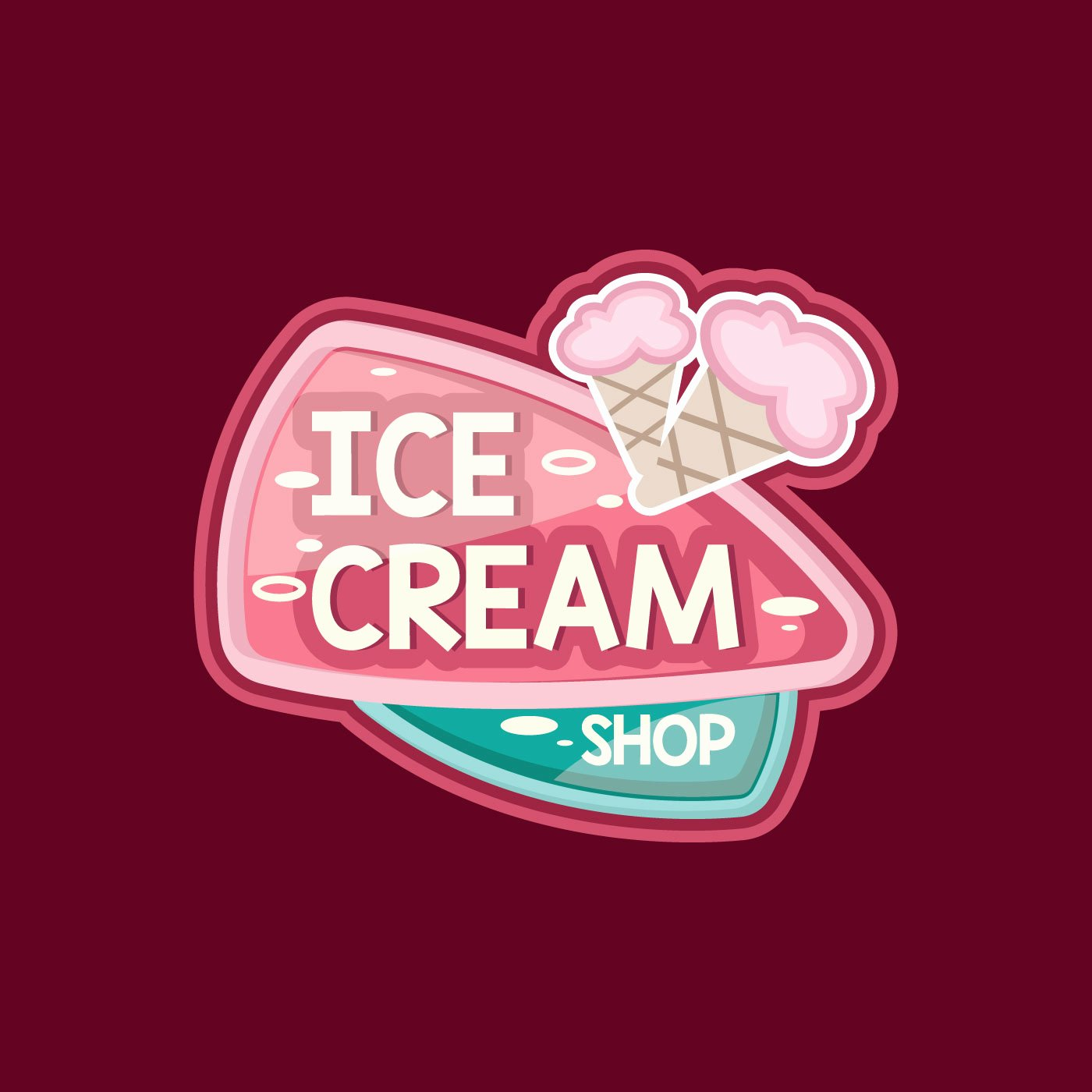 Ice Cream Shop Logo Fresh Cute Ice Cream Shop Logo Download Free Vectors Clipart