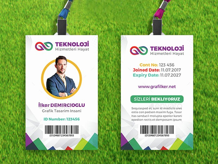 Id Card Templates Awesome 15 Best Id Card Template Design In Psd and Ai Designyep