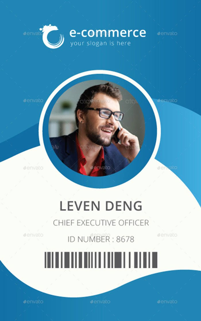 Id Card Templates Beautiful 15 Best Id Card Template Design In Psd and Ai Designyep