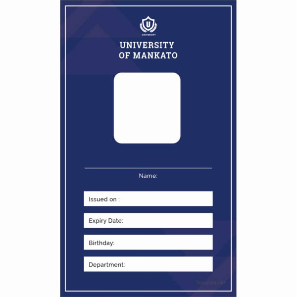 Id Card Templates New 17 Id Card Templates Free Sample Example format