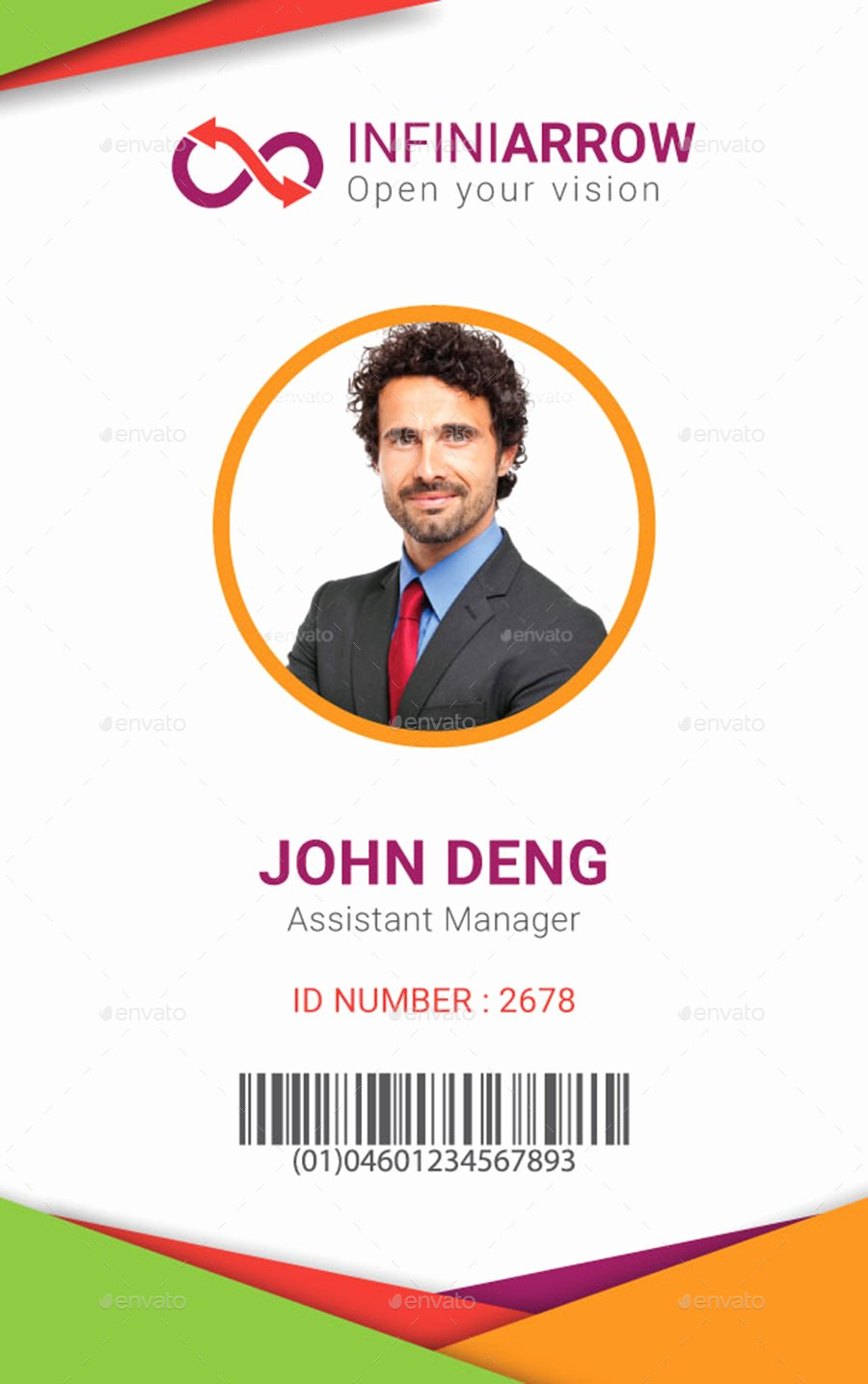 Id Cards Templates Awesome Multipurpose Business Id Card Template by Dotnpix