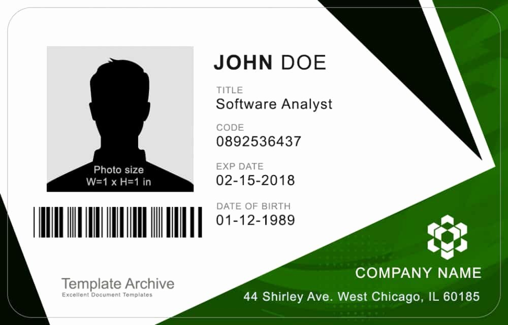 Id Cards Templates Best Of 16 Id Badge & Id Card Templates Free Template Archive