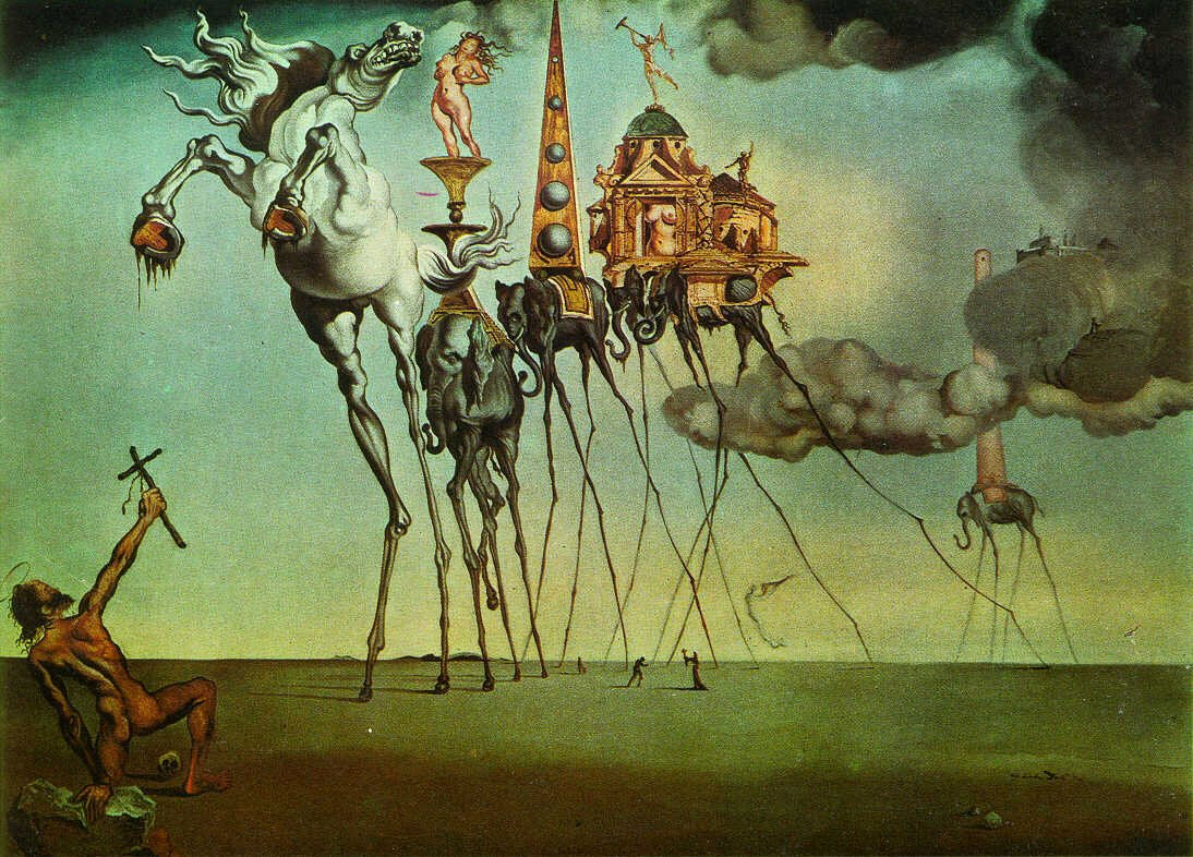 Images Of Salvador Dali Paintings Beautiful Salvador Dali's Guide to Making Art