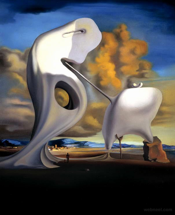 Images Of Salvador Dali Paintings Fresh 25 Famous Salvador Dali Paintings Surreal and Optical