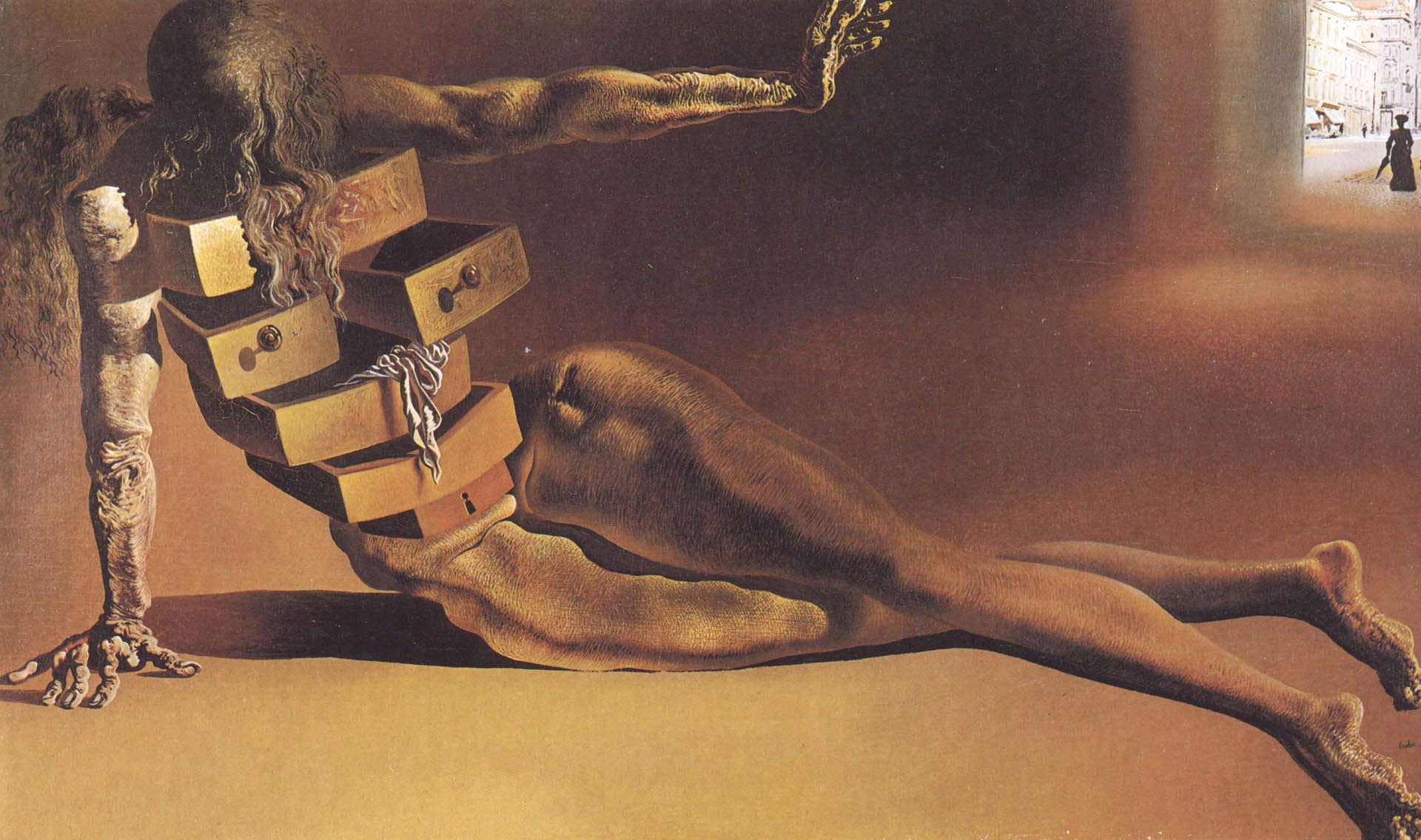 Images Of Salvador Dali Paintings Fresh the Anthropomorphic Desk