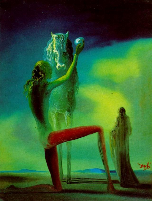 Images Of Salvador Dali Paintings Unique Knights Of Death Salvador Dali Wikiart