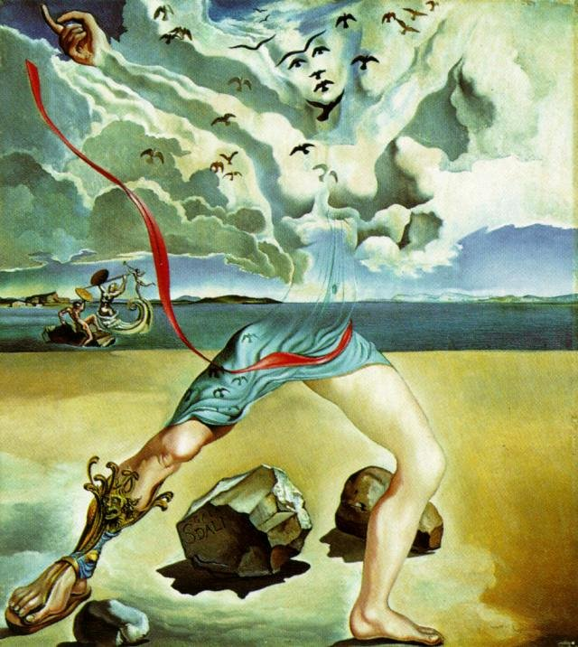 "Images Of Salvador Dali Paintings Unique ""mural Painting for Helena Rubinstein Panel 1 1942"