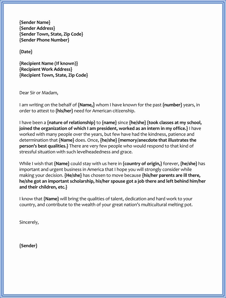 Immigration Reference Letter Template Unique 17 Sample Character Reference Letter for Court Judge