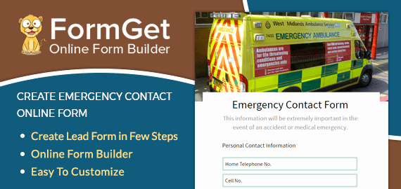 In Case Of Emergency form Luxury Emergency Contact form for Fire Health & All Purposes