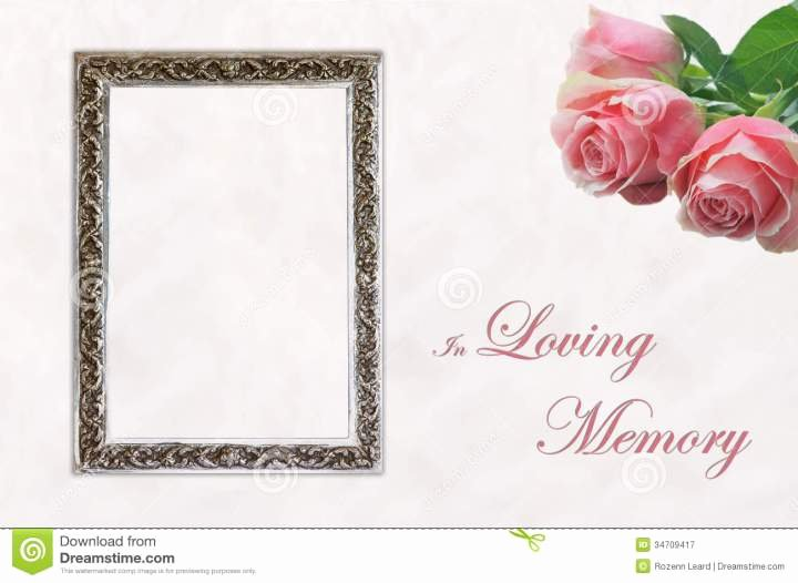 In Loving Memory Card Template Beautiful Non Religious Condolence Quotes Quotesgram