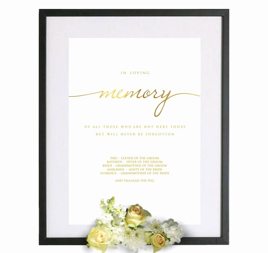 In Loving Memory Card Template Best Of In Loving Memory Template Gold In Loving Memory Pdf In